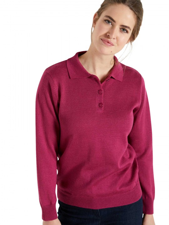 Pull col polo