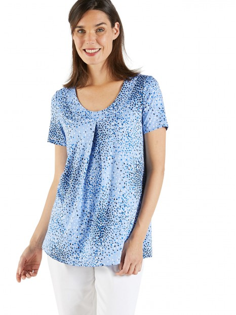 Tee-shirt forme tunique