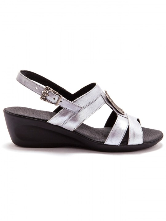 Sandales cuir, option chic