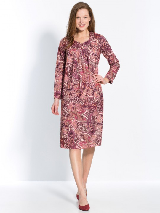 Robe housse manches longues
