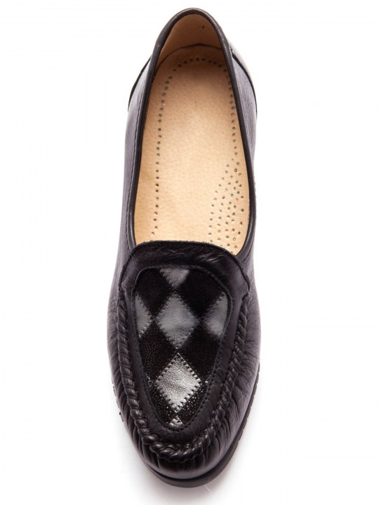 Mocassins en cuir, ultra souples