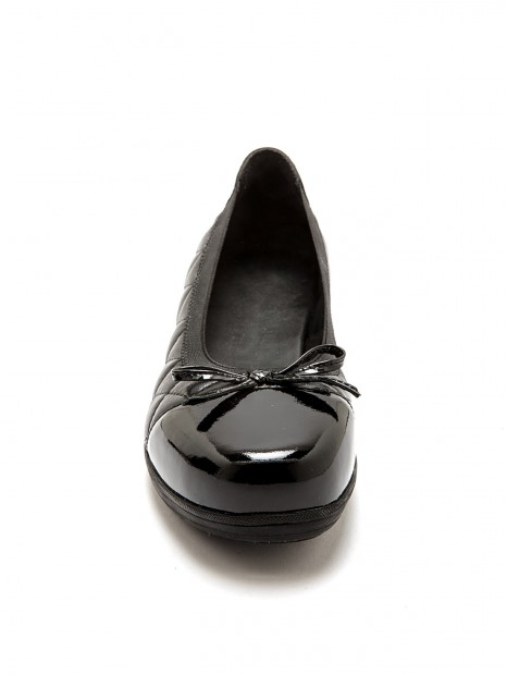 Ballerines cuir ultra larges